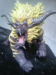 MH RAJANG SCULPTURE by canary101