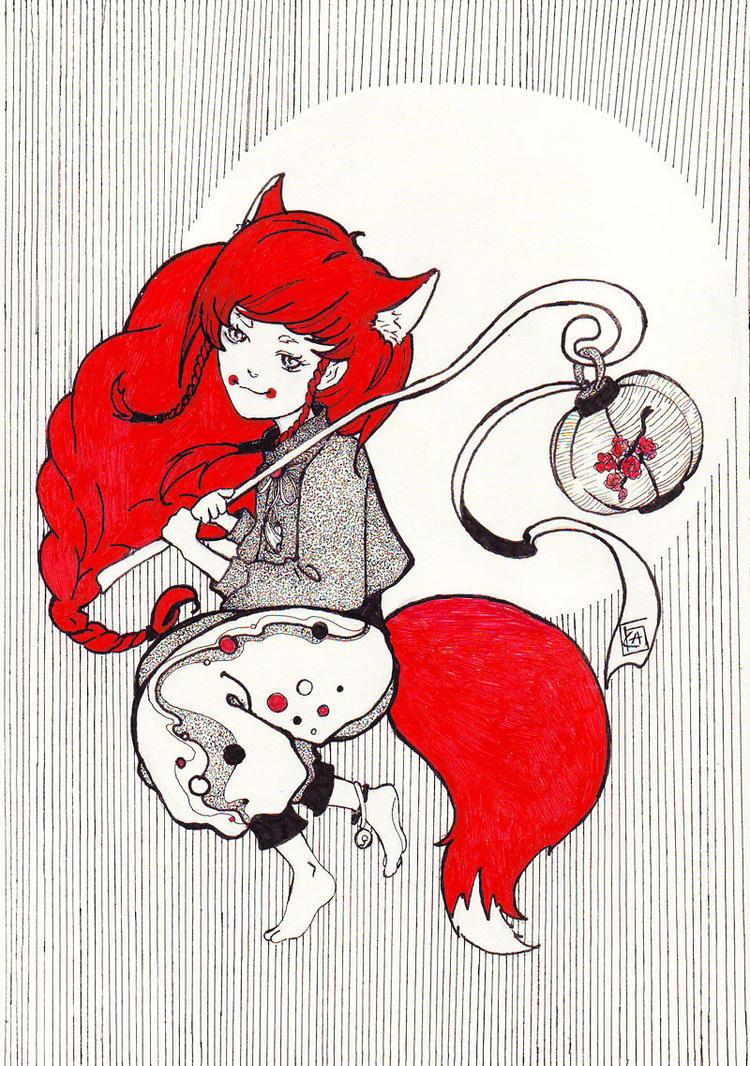 Little fox by Kaede--kun