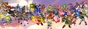 Super Smash Bros U L T I M A T E Collab.