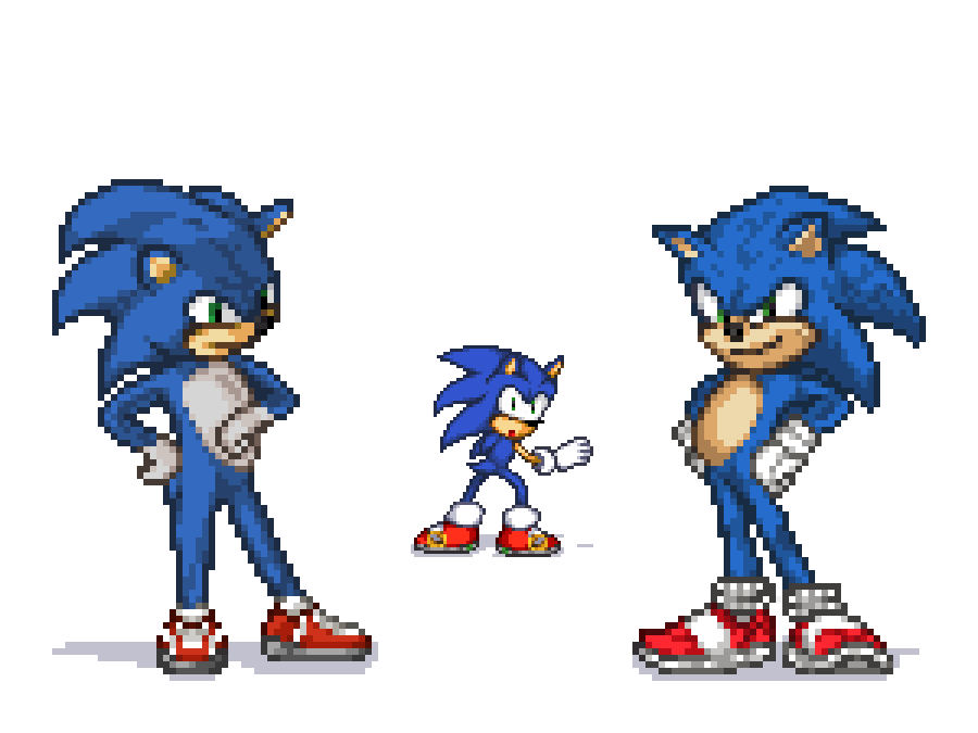 Sonic The Hedgehog Movie 2020 Sprite By Lawea888 On Deviantart