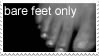 bare feet only by OttPop