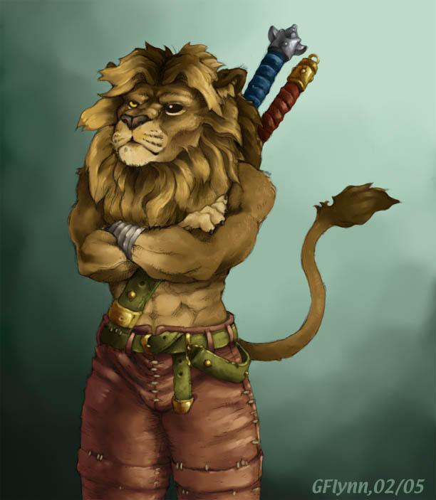 Lion Warrior by snoot on DeviantArt