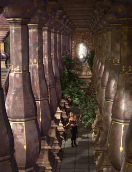 Amid the Columns