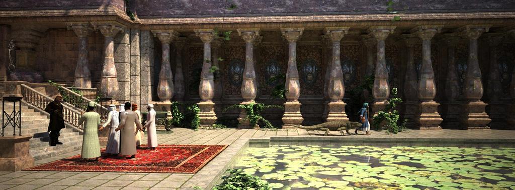 Vimalian Courtyard by Asdaricus
