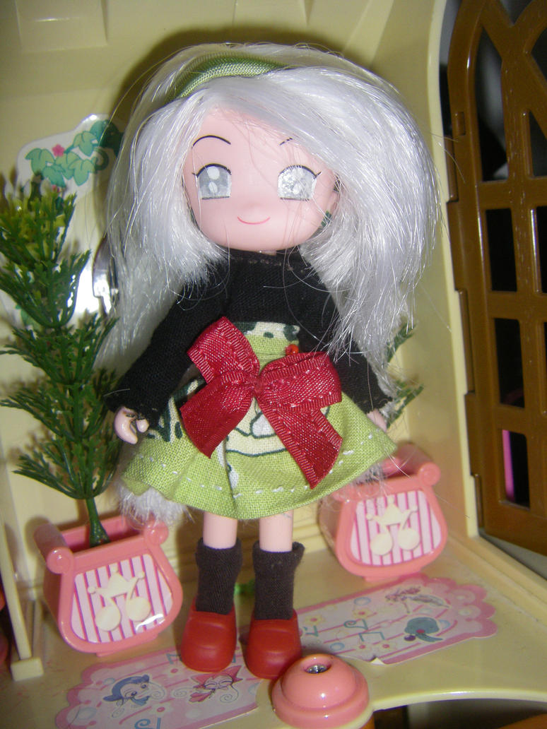 Ojamajo Midori Kimura (ooak doll) by RebbyCraft