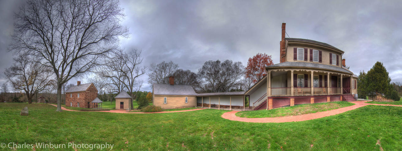 Sully House Panorama by CharlesWb