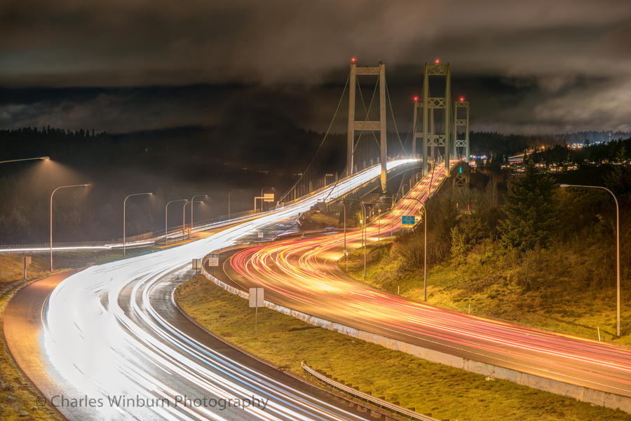 Tacoma Narrows by CharlesWb