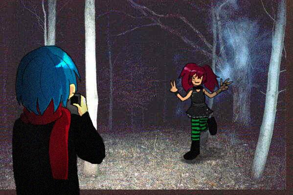 Graveyard friends by AntiShadowPerson
