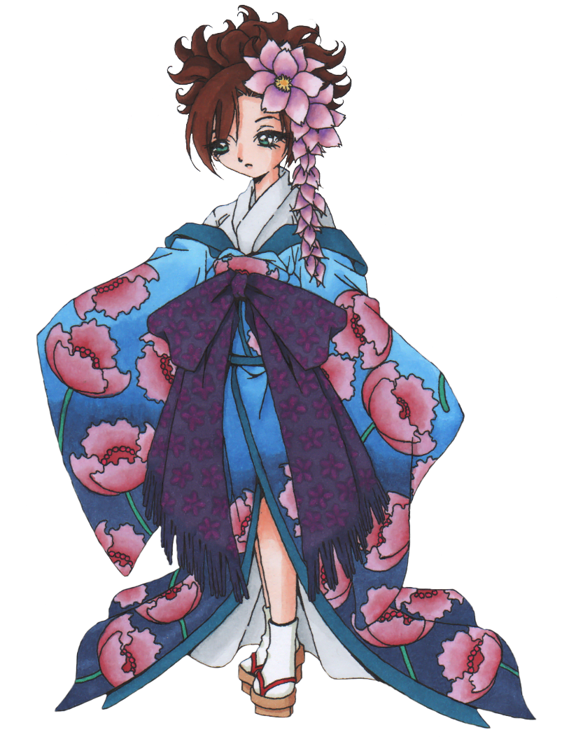 Sakura Girl by Rhedrin