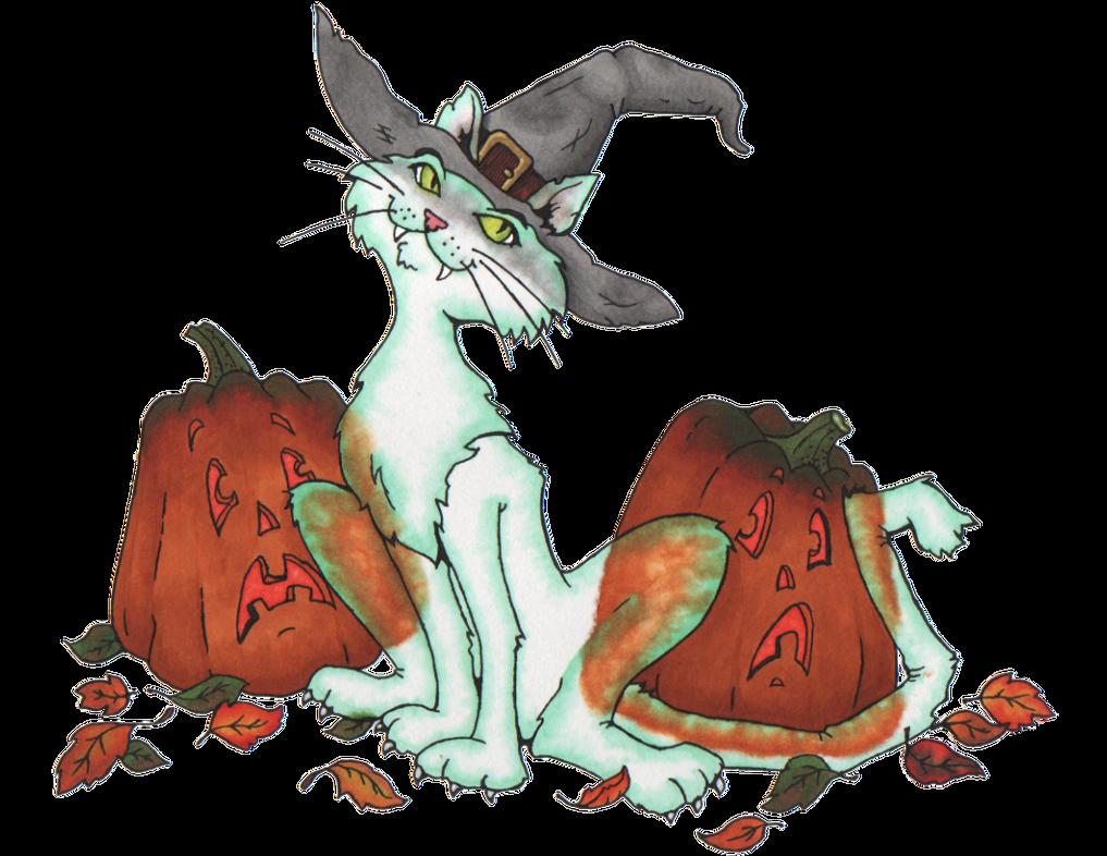 Ghost Cat by Rhedrin