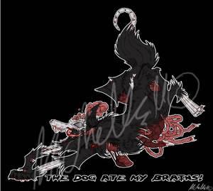 Zombie Dog by TrollsCanPaintToo