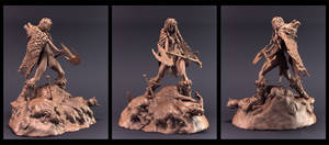 Red Sonja clay shot