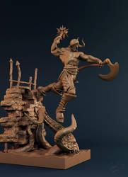 undead warrior clay shot 01