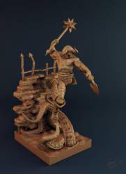 undead warrior clay shot 02
