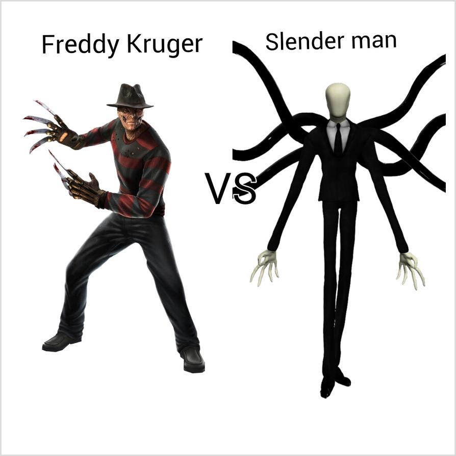 Go Back  gt  Pix For  gt  Slenderman Vs Freddy KruegerJeff The Killer Vs Freddy Krueger