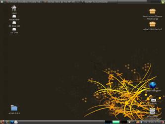 February Linux Desktop by Nitrolinken