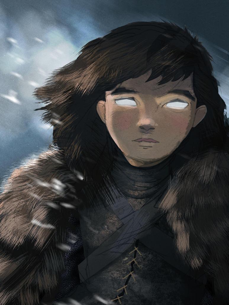 Bran Stark by Jonathan-Wilson