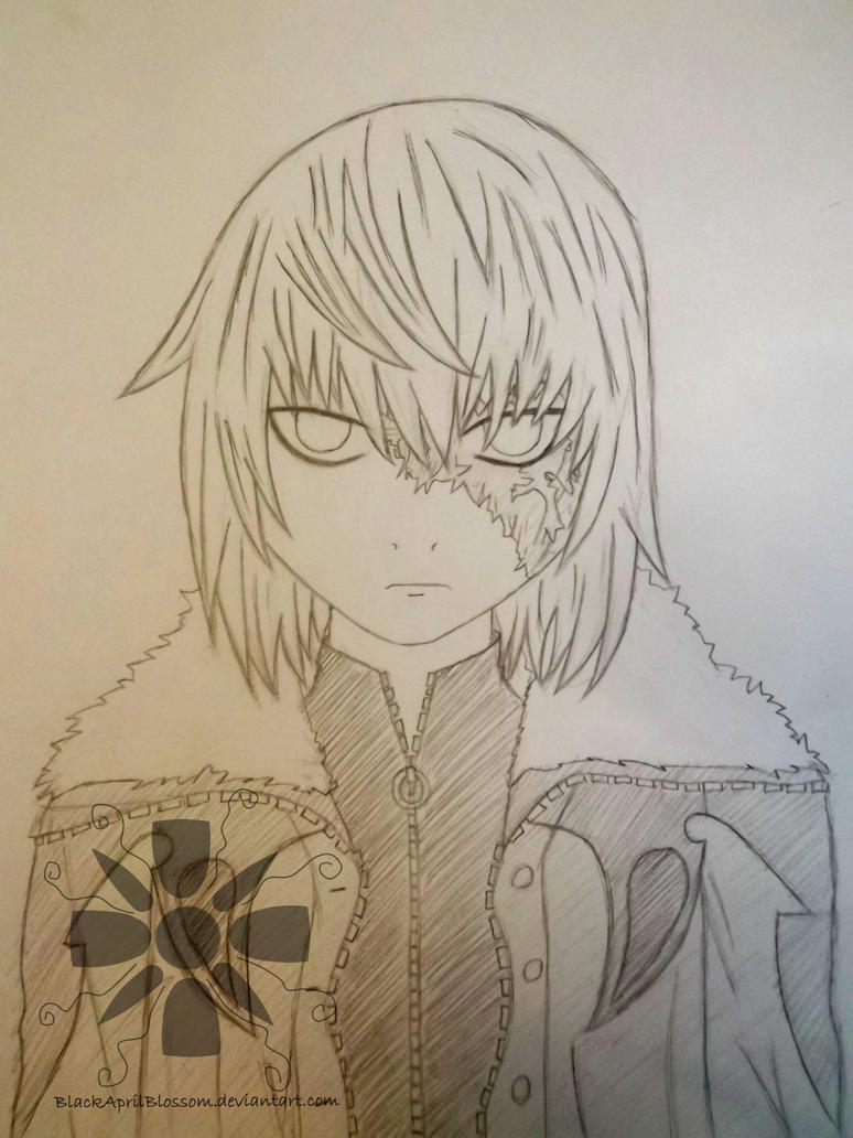 Sketch of Mello - Older by BlackAprilBlossom