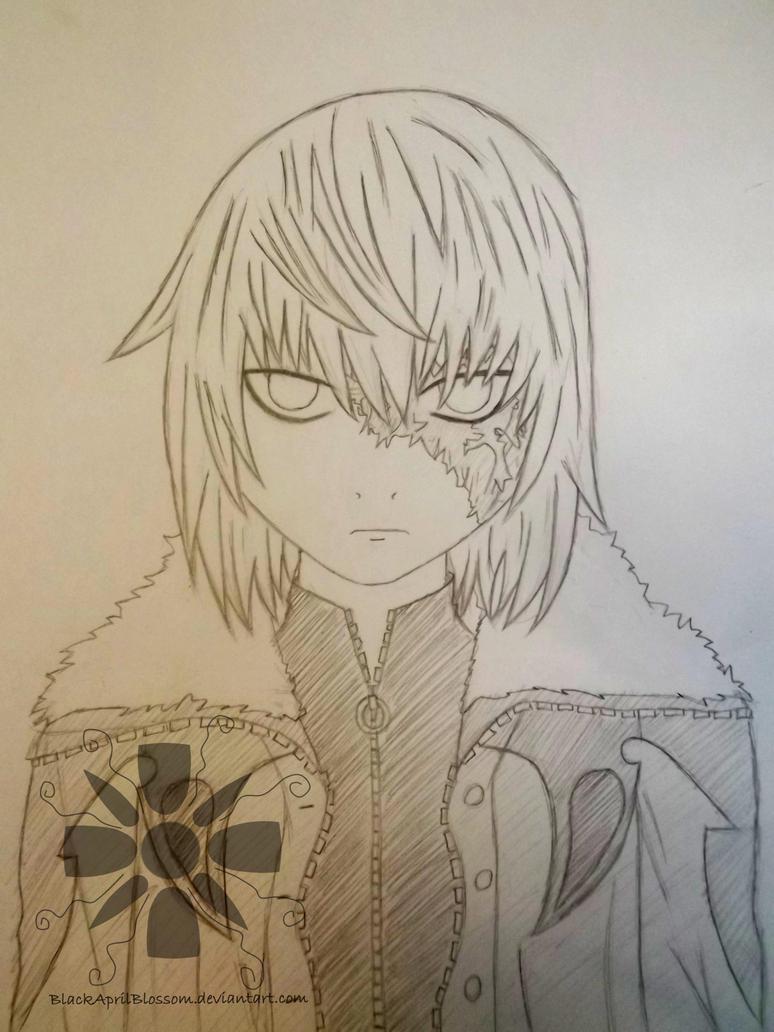 Sketch of Mello - Older by BlackAprilBlossom