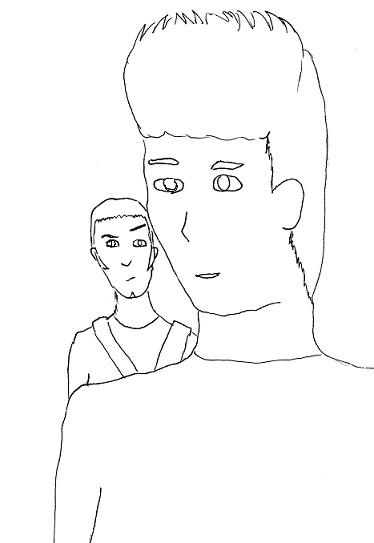 Action Man sketch by supernova2005