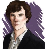 Sherlock Doodle by dancinghamtoro