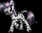 Twilight zebra