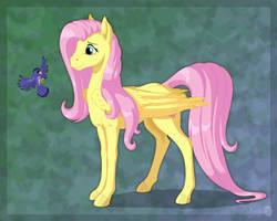 Fluttershy by Sirzi