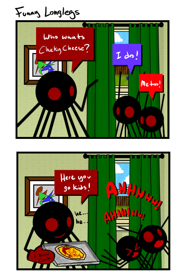 Funny Longlegs - Chucky Cheese by LaughingSkeleton