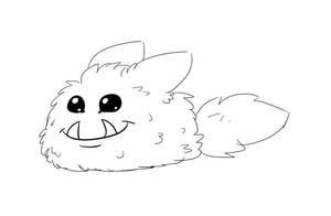 Inktober - Fur by LaughingSkeleton