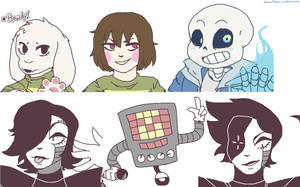 Just a bunch of Monsters... by kanarichan