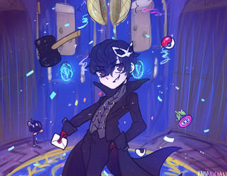 SSBU - Joker by kanarichan