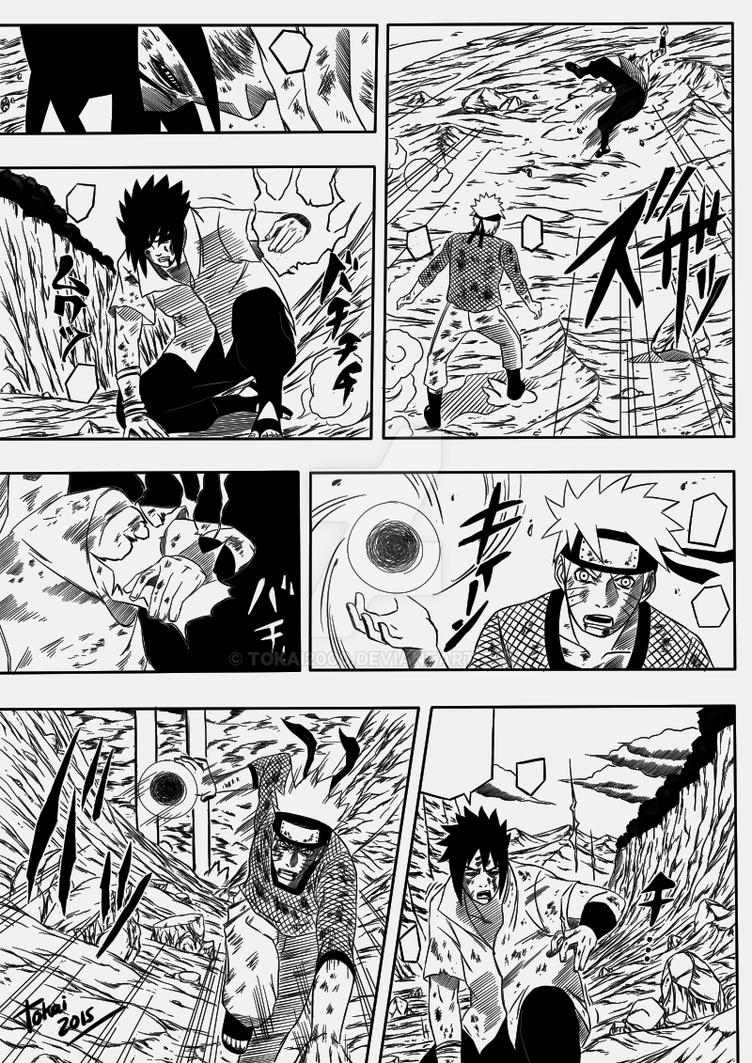 Naruto Vs Sasuke Panel By Tokai2000