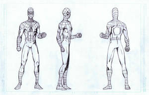 Spider-Man Turnaround by AlonsoNunez