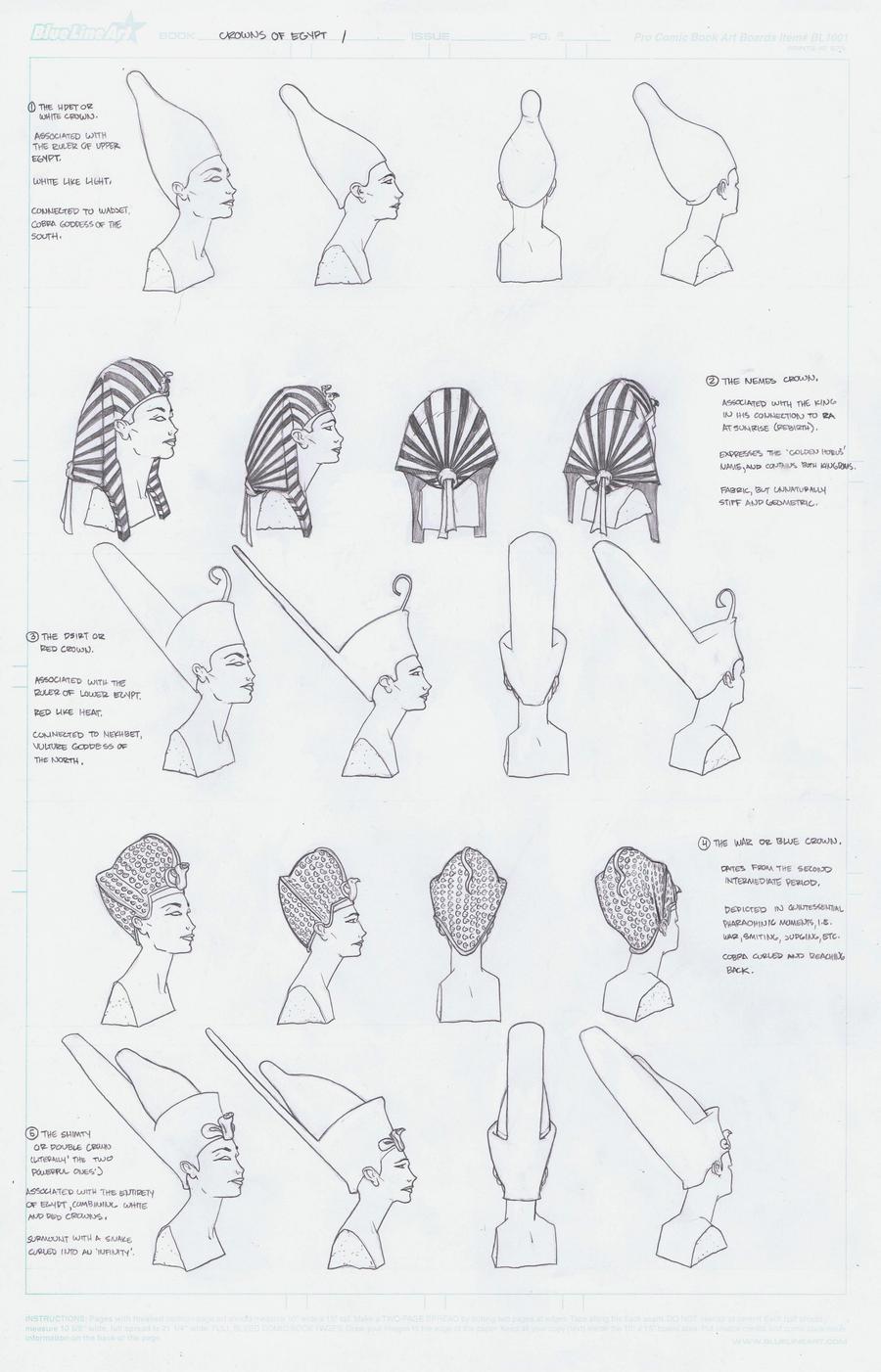 Crowns of Egypt I by AlonsoNunez
