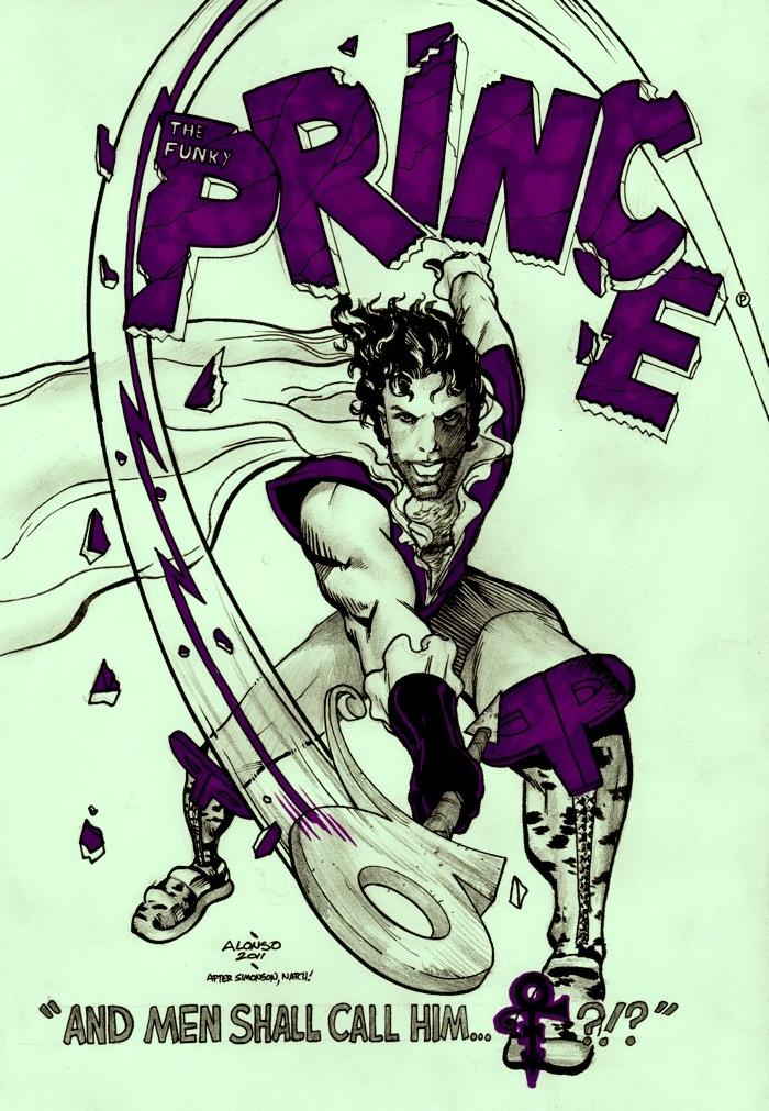 Prince, God Of Funk by AlonsoNunez