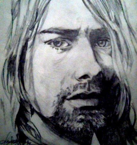 Kurt Cobain, Rolling Stone Magazine Front Cover