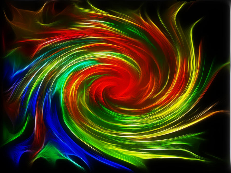 Abstract Lights 1 by m3-k3