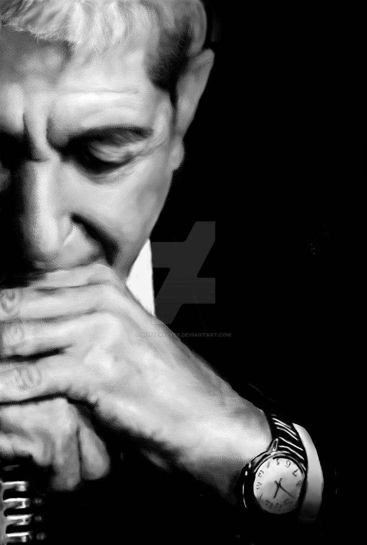 Leonard Cohen by Butterflyer