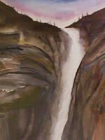 Ribon Fall Mesmerizing by Yosemite-Stories