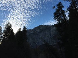 Popcorn Clouds over Yosemite by Yosemite-Stories