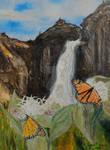 Monarchs on Milkweed Creatures  of Light 3