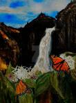 Monarchs on Milkweed Creatures  of Light 4