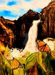Monarchs on Milkweed Creatures  of Light 5