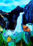 Monarchs on Milkweed Creatures  of Light 6