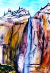 Yosemite Falls Autumn Colors