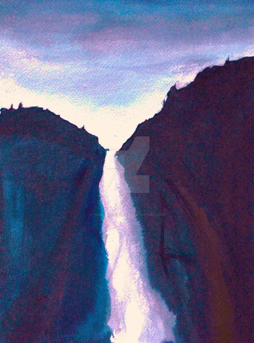 Yosemite Falls Color Drama by Yosemite-Stories