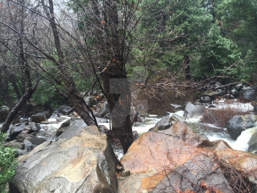 Beautiful Rocks at Bridalviel Creek by Yosemite-Stories