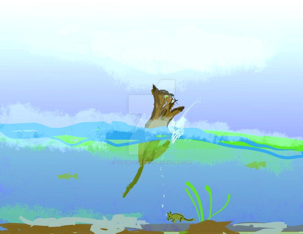 Dandelion Breathes Water.dpp Ex by Yosemite-Stories
