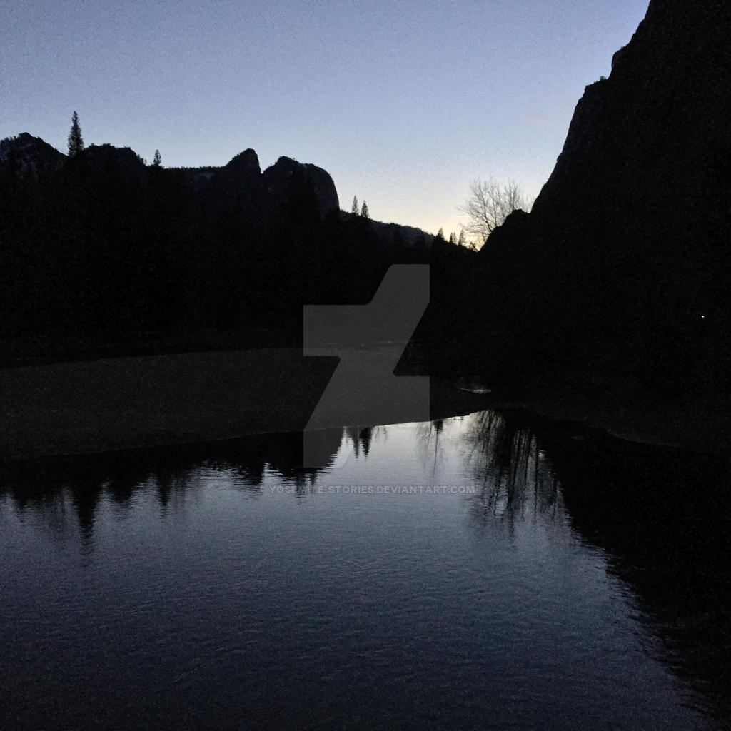 Dark Reflections by Yosemite-Stories