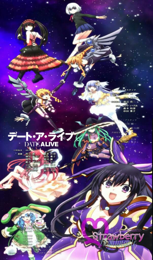 Date A Live Wallpaper Ending 3 By Yuzuhiragiasamiya On